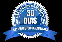 Satisfacción Garantizada 30 por días